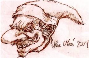 zeichnung von alex meier