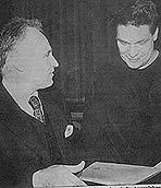 Georg Werner bei der Preisverleihung