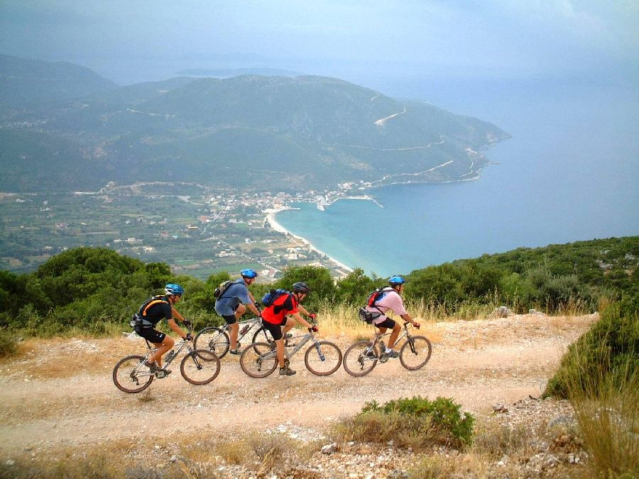Mountainbiking über Vassiliki